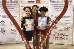 Lana Cimperšek & Inja Jeram - show dance duo otroci